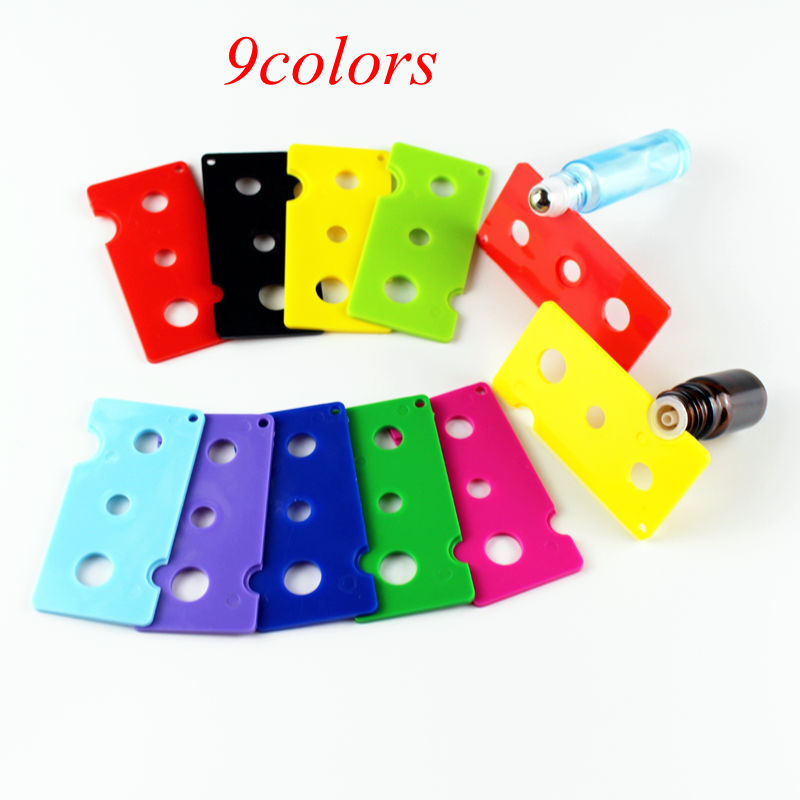 5pcs/lot 9Colors Essential Oil Bottle Opener Key Tool Remover For Roller Balls And Caps For Roller Balls And Caps Plastic Opener