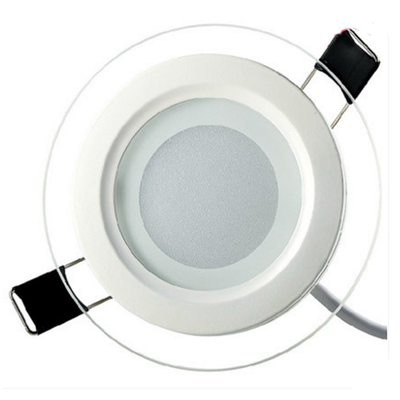 SPLEVISI Regulable 6W 12W 18W Panel LED Downlight Panel de vidrio - Iluminación interior - foto 4