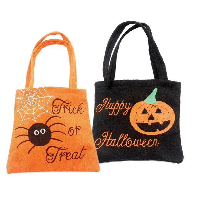 5pcslot sweet candy bag halloween party pumpkin non woven 5pcslot sweet candy bag halloween party pumpkin non woven portable bag decoration party negle Image collections