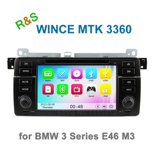 Car DVD Radio Player for BMW 3 Series M3 E46 with Bluetooth GPS Navigation support 3G WiFi Ipod