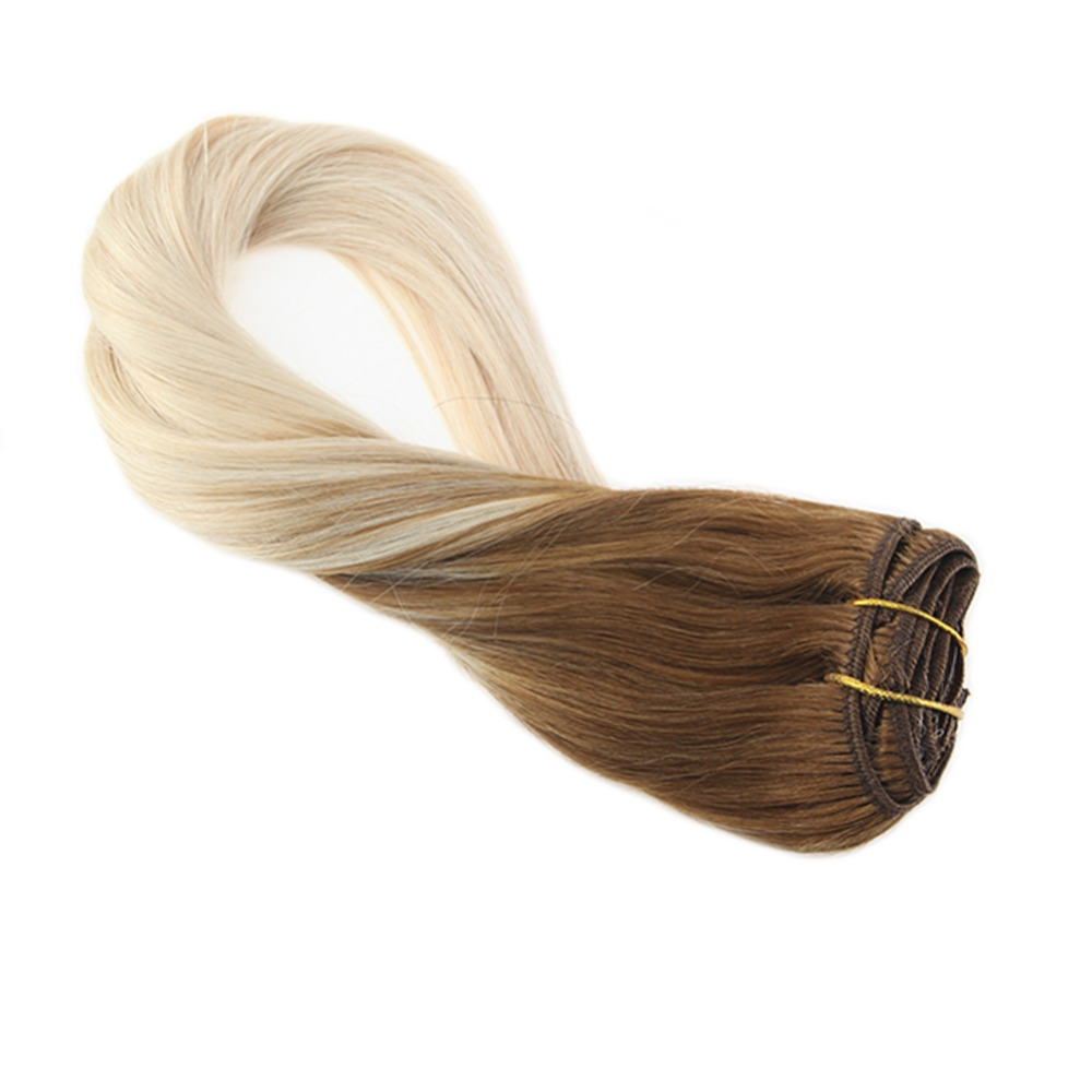 Moresoo Clip In Hair Extensions 100 G 16
