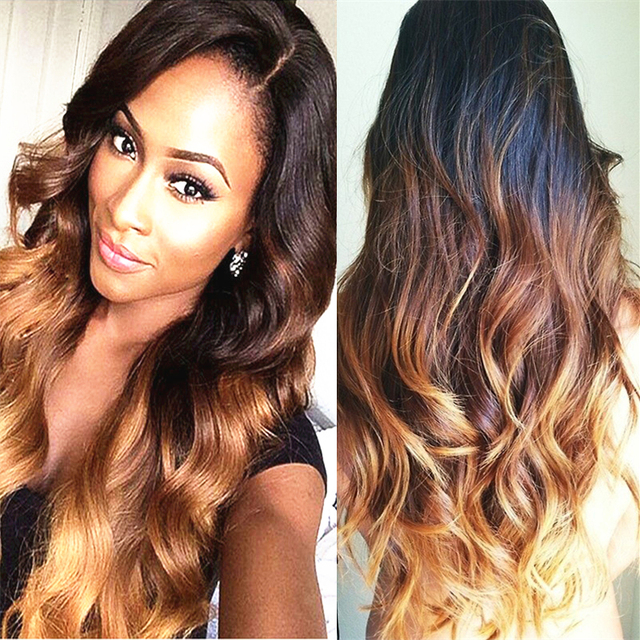 3 Bulks 1b427 Hair Weft Body Wave Synthetic Weave Hair Extensions