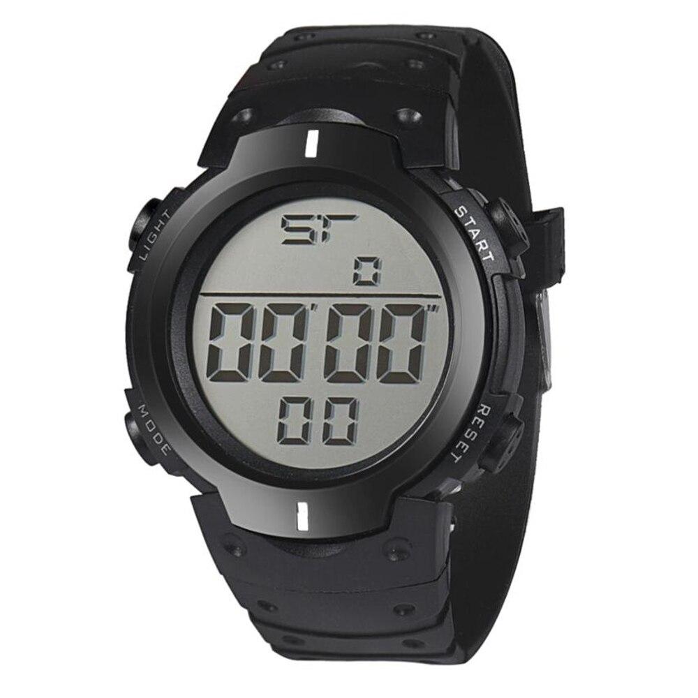 Perfekt Present Mode Vattentät Mäns Boy LCD Digital Stopwatch Datum - Herrklockor - Foto 4