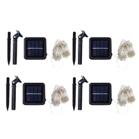 YAM Waterproof 2V 200 LED Outdoor Solar Powered String Light Garden Christmas Party Fairy Lamp 20m