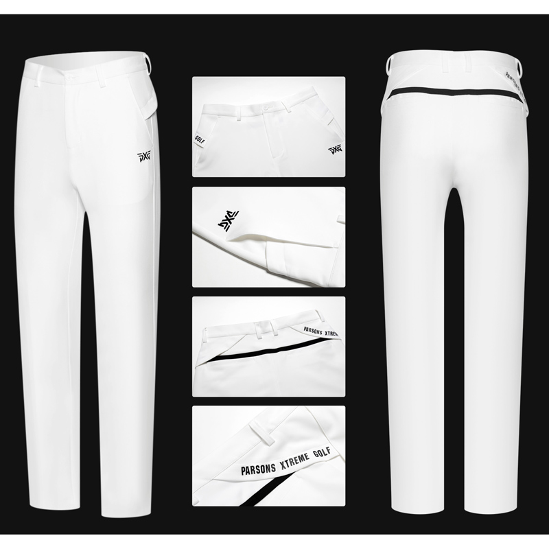 PXG Men Golf Pants Outdoor Sports Trousers Autumn Korean Slim Long Pants Male Golf Clothing 4 Colors Men Golf Training Pants цена