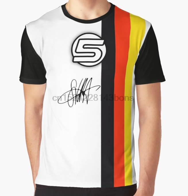 All Over Print T-Shirt Men Funy Tshirt  Vettel Helmet Sig  Short Sleeve O-Neck Graphic Tops Tee Women T Shirt