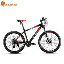 Cyrusher XF900 Smart Elektro Mountainbike 26×17 Aluminium Rahmen 250 Watt 36 V Lithium-Batterie 24 Geschwindigkeiten Ebike mechanische Scheibenbremse