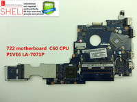 722 Motherboard For Acer Aspire One P1VE6 LA 7071P C60 CPU Excellent Condition SHELI Store 60days