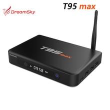 5pcs/lot  Amlogic S905 T95 max  Android 5.1 TV Box 2GB DDR3 RAM 32GB ROM Bluetooth 4.0 KODI Pre-installed Smart 4K TV box