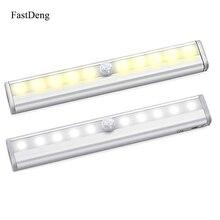 Cocina Lights Led Light Bar PIR Motion Sensor Cabinet Aluminum Indoor Lighting Wall Lamp Closet Corridor Pathway Daily