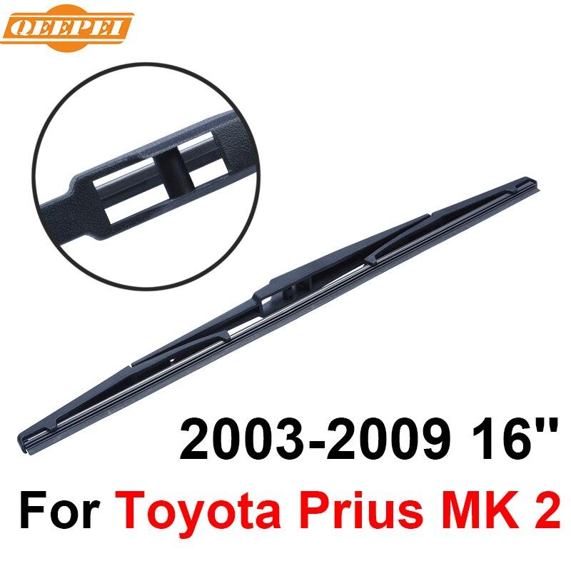 QEEPEI Hinten Wischblatt Kein Arm Für Toyota Prius MK 2 2003-2009 16 ''5 tür fließheck Hochwertigen Iso9000 Naturkautschuk A1-40