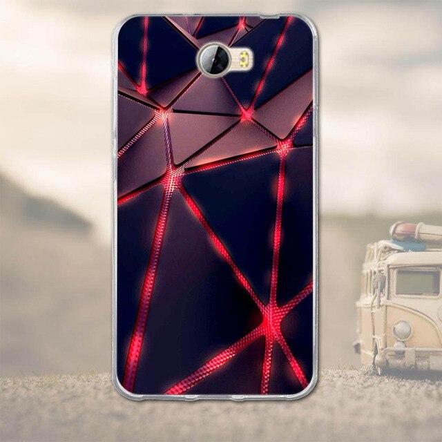 """TPU Doux Cas de Téléphone pour Huawei Y5 II Y5 2 Couverture Arrière pour Funda Huawei Y5 II Y5 2 4.5 """"Téléphone Cas Capa De Silicium Protecteur Shell 3D"""