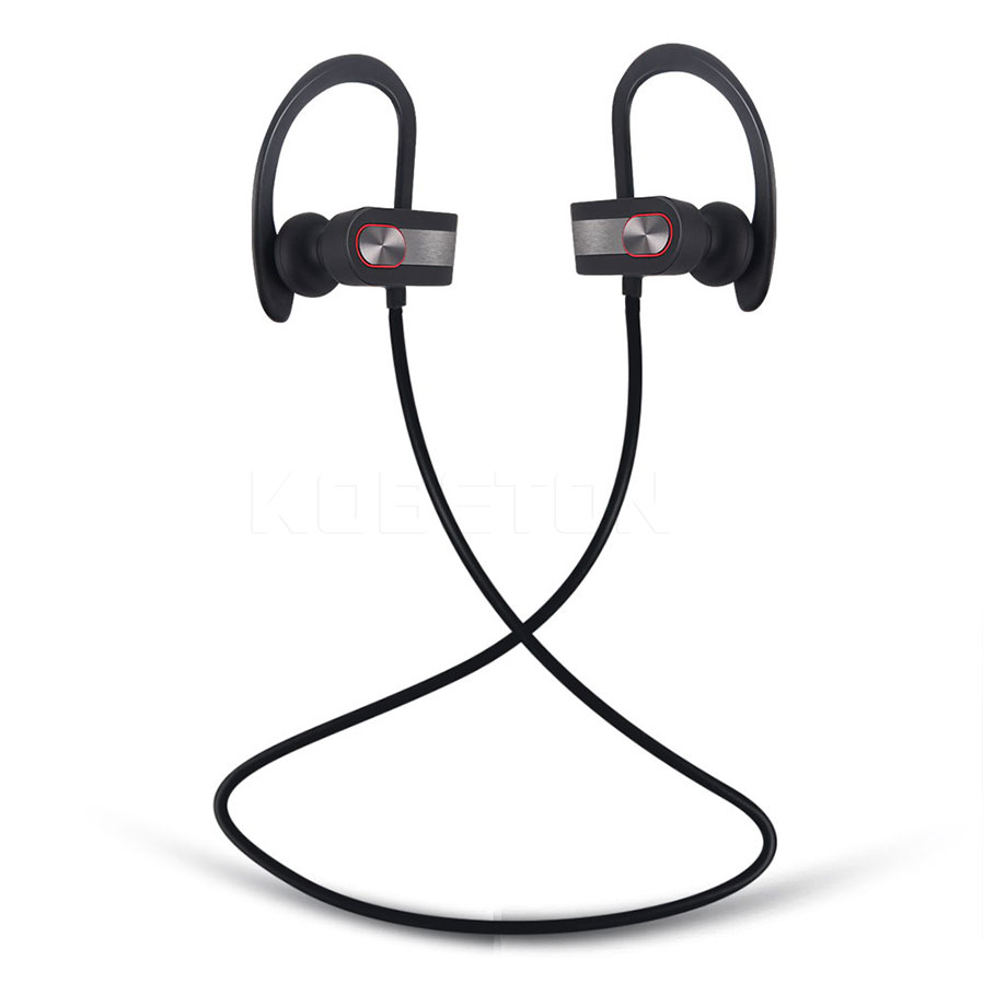 New Sports Ear Hook Wireless Earphone Waterproof Bluetooth Earbuds V41  With Mic For Iphone
