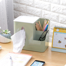 Multi-fuction Plastic Tissue Box Toilet Seat Type Paper Canister Bathroom Living Room Napkin Holder For Home Kitchen Decorations