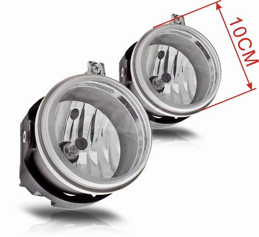 Case for Jeep Patriot 2007 2008 2009 fog light Halogen fog lamp-in Car Light Assembly from Automobiles & Motorcycles    2