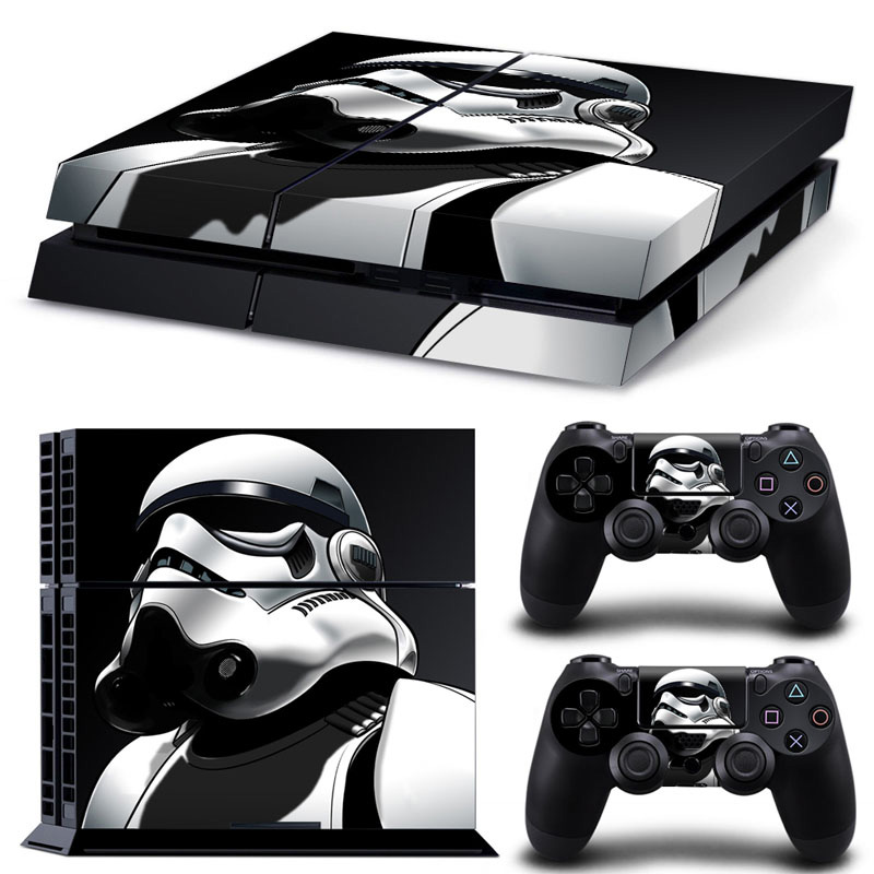 Star Wars PS 4 Vinyl Game Skin Sticker For Sony Play Station 4 Console & Controllers Skins PS4 Accessories