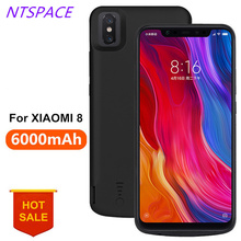6000mAh External Power Bank Case For Xiaomi Mi 8 Portable Battery Charger Extended Phone