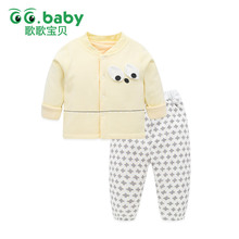 Warm Christmas Baby Pajamas Suit Newborn Sleepers Long Sleeve Outfits  Winter Baby Set Clothing For Boy Infant Girl Clothes Sets b9155b5f6