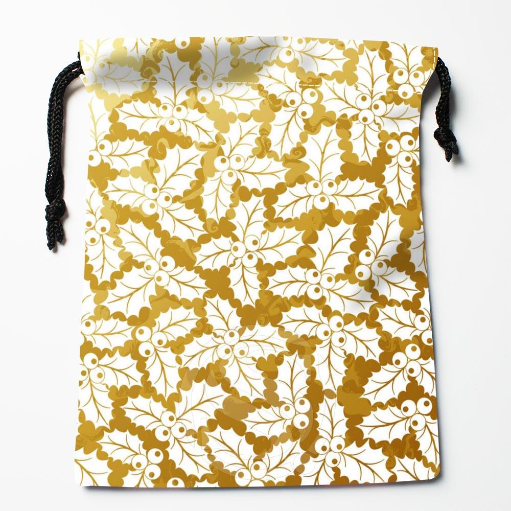 TF&169 New Christmas Tree #!T Custom Printed Receive Bag Bag Compression Type Drawstring Bags Size 18X22cm #812#169YQ