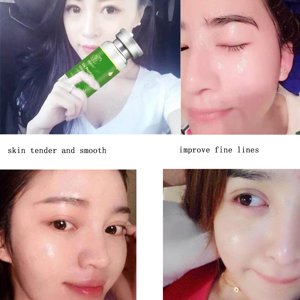 six peptides face lift Serum face care hyaluronic acid for face Lifting Firming argireline liquid 10ml anti aging