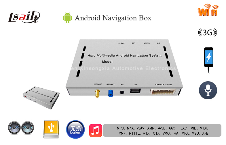 Android 6.0 1080P HD Pioneer Android Navigation Box support External 3G , TMC , Network Map , Facebook , Google алексей голощапов google android системные компоненты и сетевые коммуникации