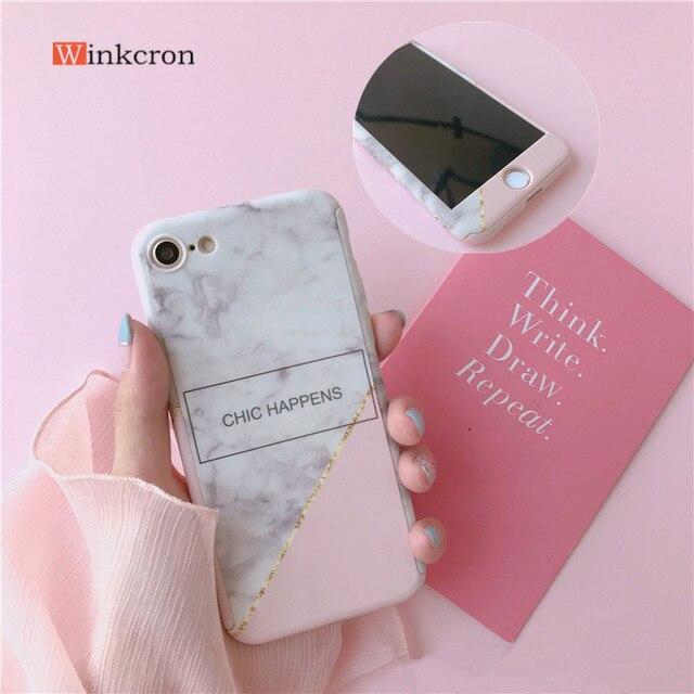 iphone 8 plus marble 360 case