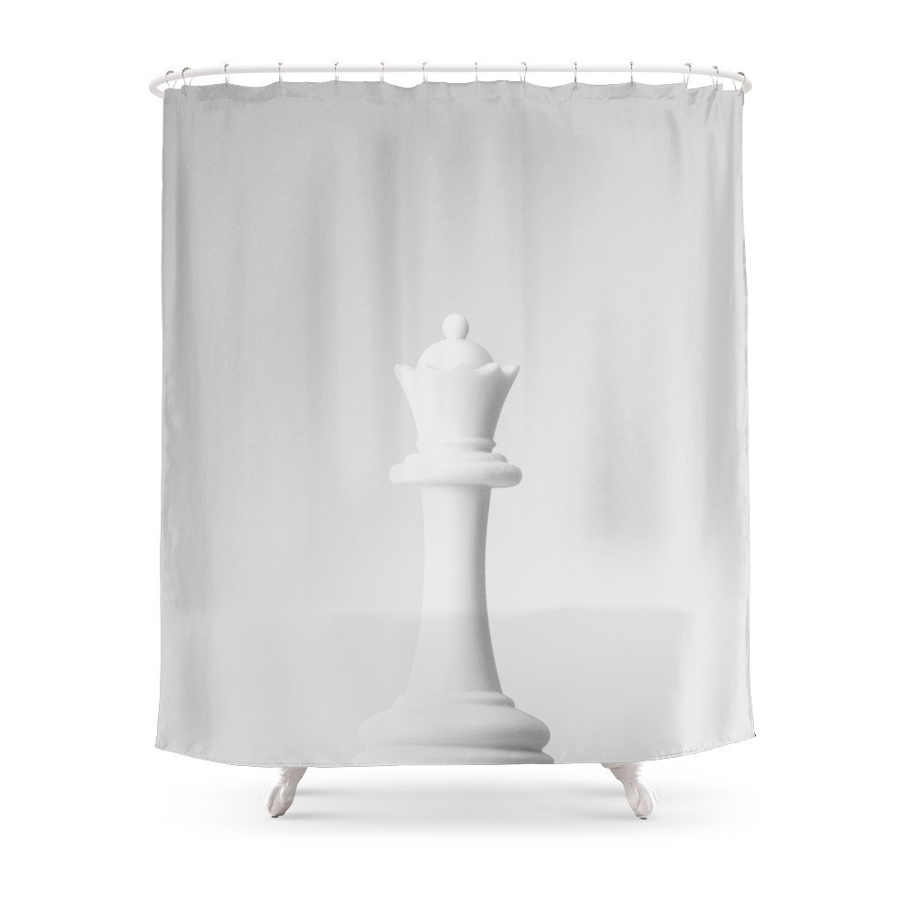 Black Queen Shower Curtain Game Of The Throne The White Queen Shower Curtain 71