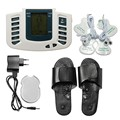 Multifunctional Electronic LCD Body Massage Therapy Machine with Foot Slipper Massager massagem