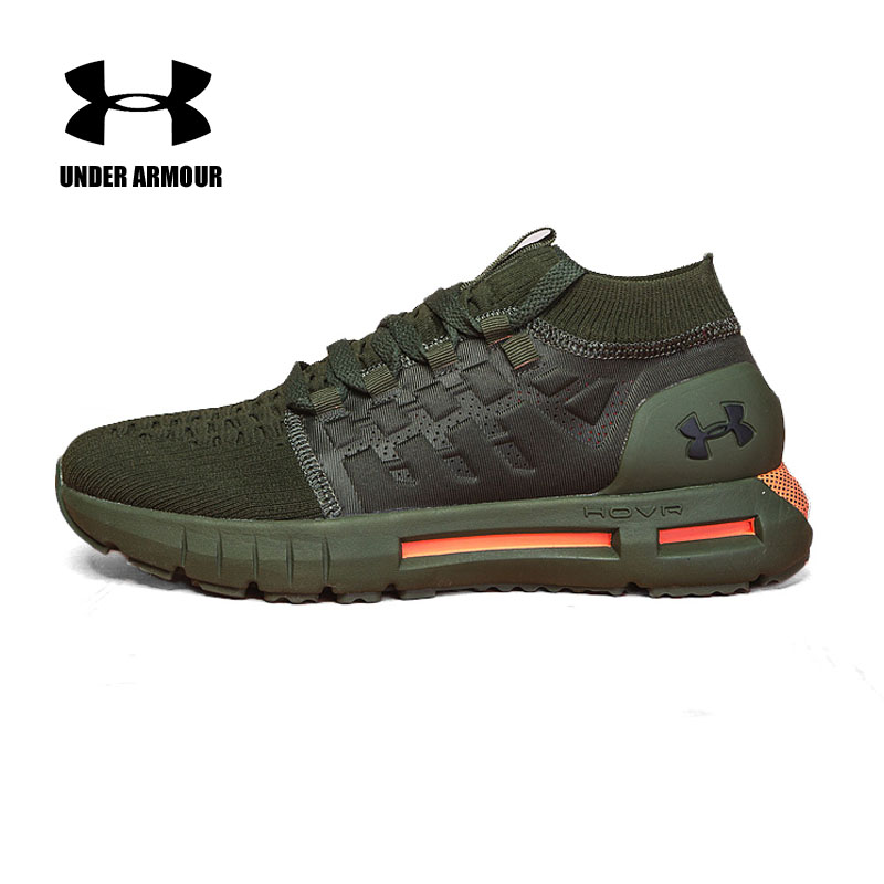 Under Armour HOVR Phantom Mens Running Shoes Sock sneakers Zapatillas Hombre Deportiva outdoor walking Jogging Shoes new arrival
