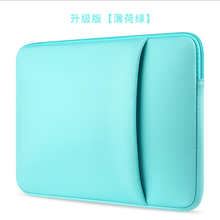 2017 Soft Sleeve Laptop Bag Case For Macbook Air Pro Retina 13 Zipper Bags For Mac Book Carry Pouch Cover For Lenovo Notebook(China (Mainland))
