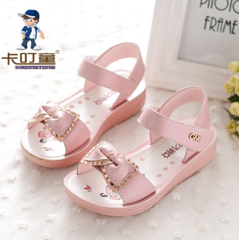 Kadingtong Letnie dziecięce buty dla dziewczynki Księżniczka Party - Obuwie dziecięce - Zdjęcie 1