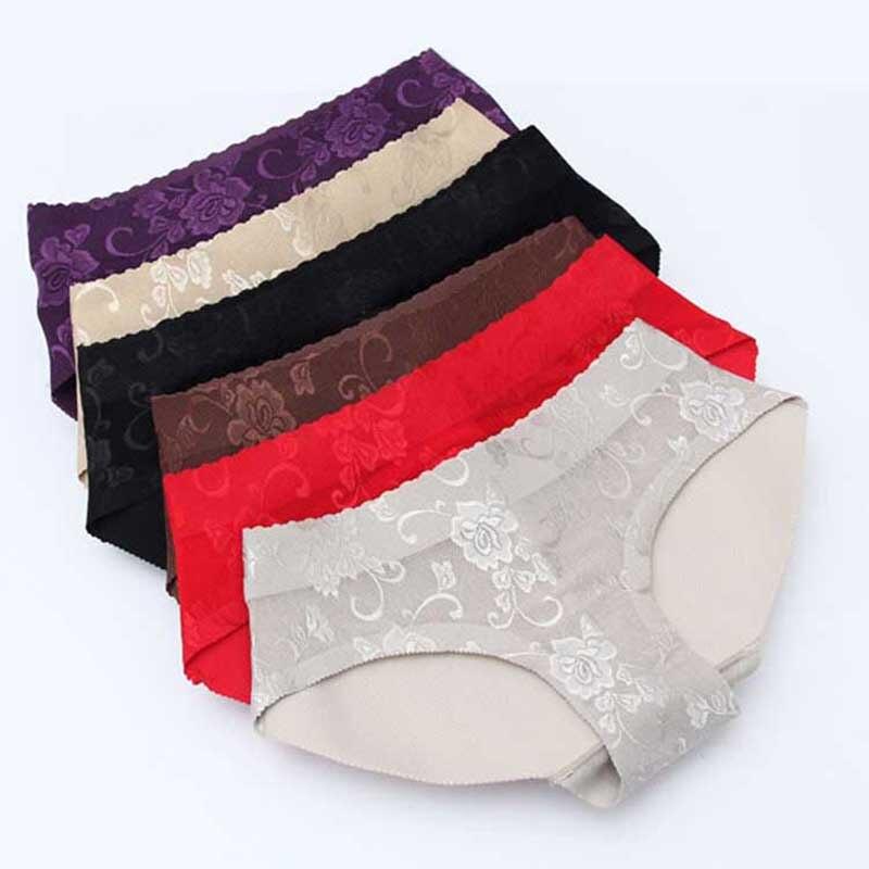 4af9d1f9e Sexy Acolchoado Calcinhas Seamless Calcinhas Buttocks Push Up Underwear  Lingerie mulheres de Boa qualidade Briefs Butt