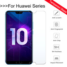 9H Tempered Glass For Huawei honor 10 Screen Protector For Huawei honor 9 lite 8 9i note 10 paly nova 2 2i plus Protective Film(China)