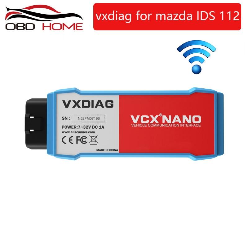 2019 Original VXDIAG VCX NANO for Mazda 2 in 1 IDS V113 Auto Diagnostic Tool Scanner