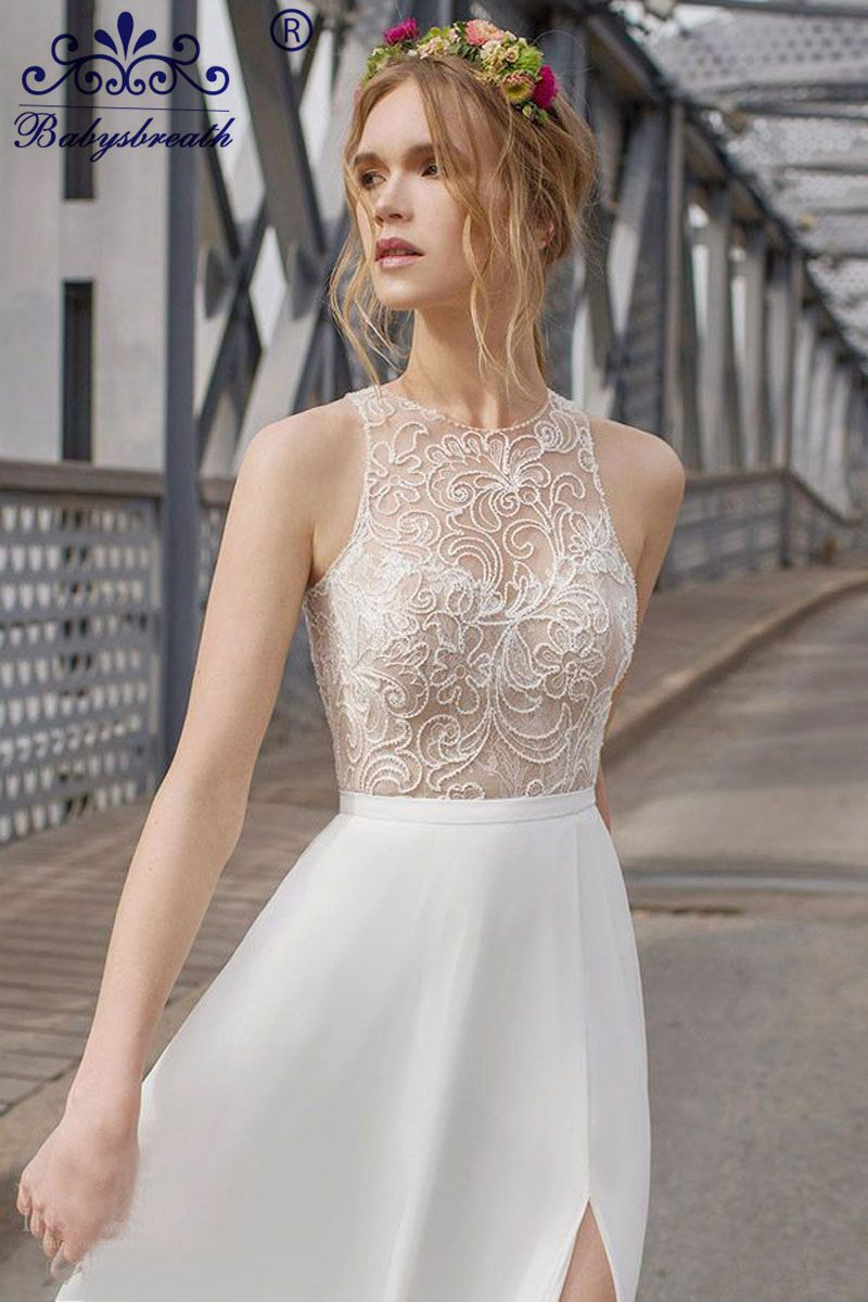 Bling Bling Beads Wedding Dresses Colorful Gowns Lace Backless ...