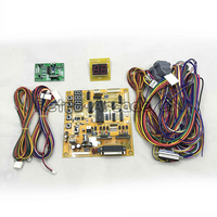 Crane Machine Main board Toy Crane Machine Yellow PCB Arcade Game motherboard with wiring harness
