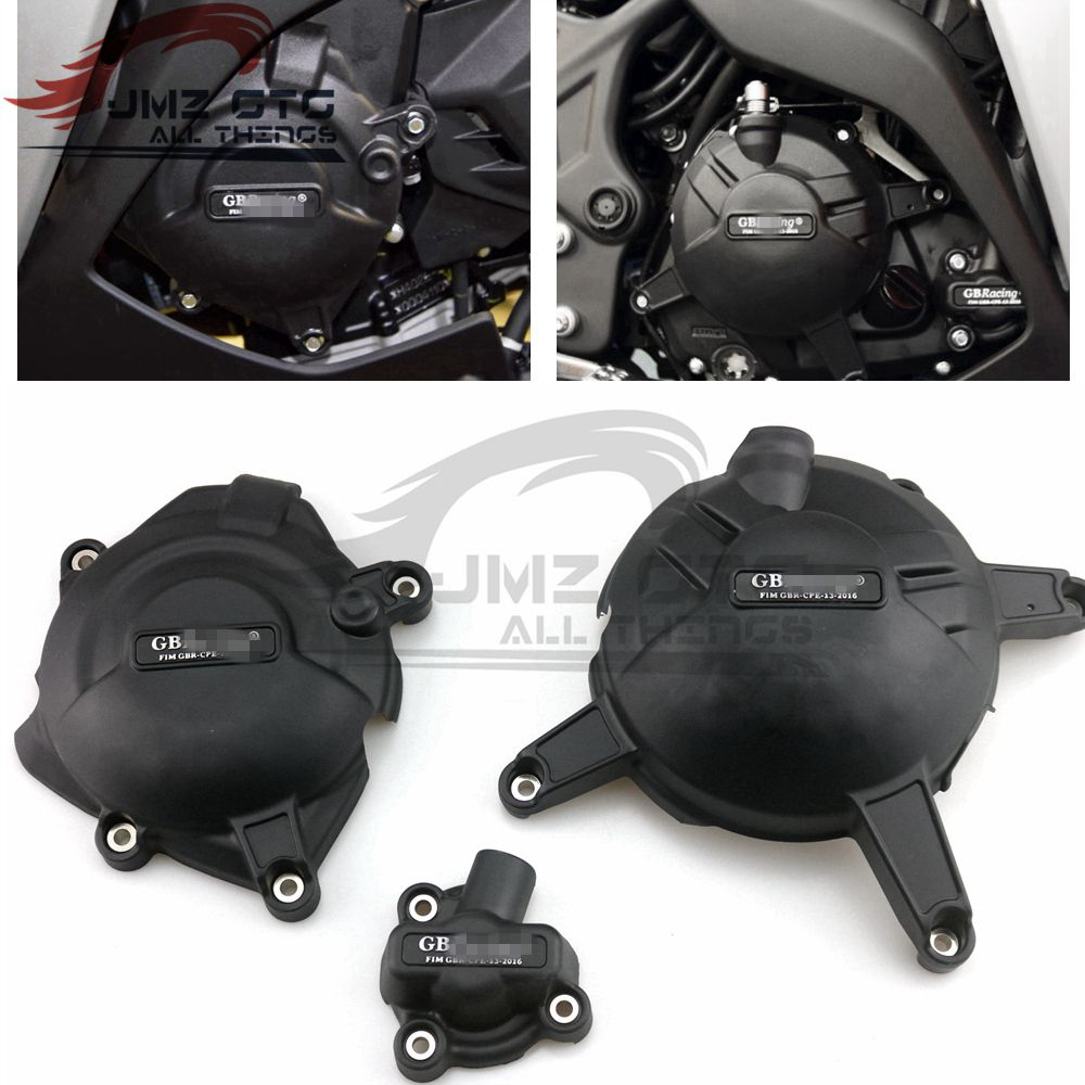 Motorcycles Engine Cover Protection Case For Case GB Racing For YAMAHA R25 R3 MT03 2014-2015-2016-2017-2018-2019