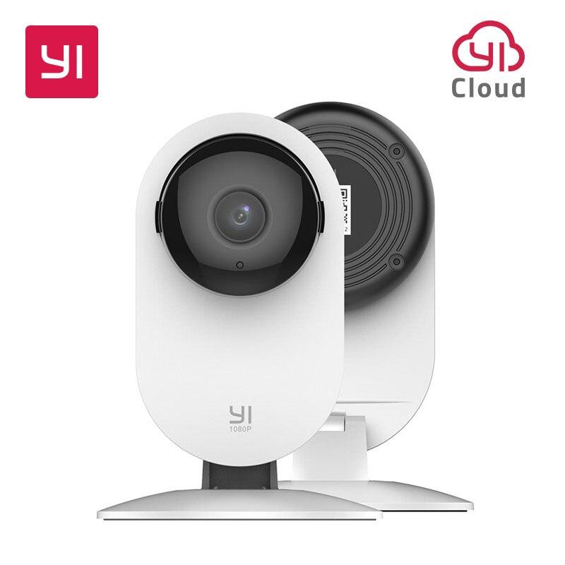 YI 1080 p дома камера Крытый IP безопасности системы скрытого видеонаблюдения с ночное видение для дома/офиса/ребенка/Няня/видеоняня белый
