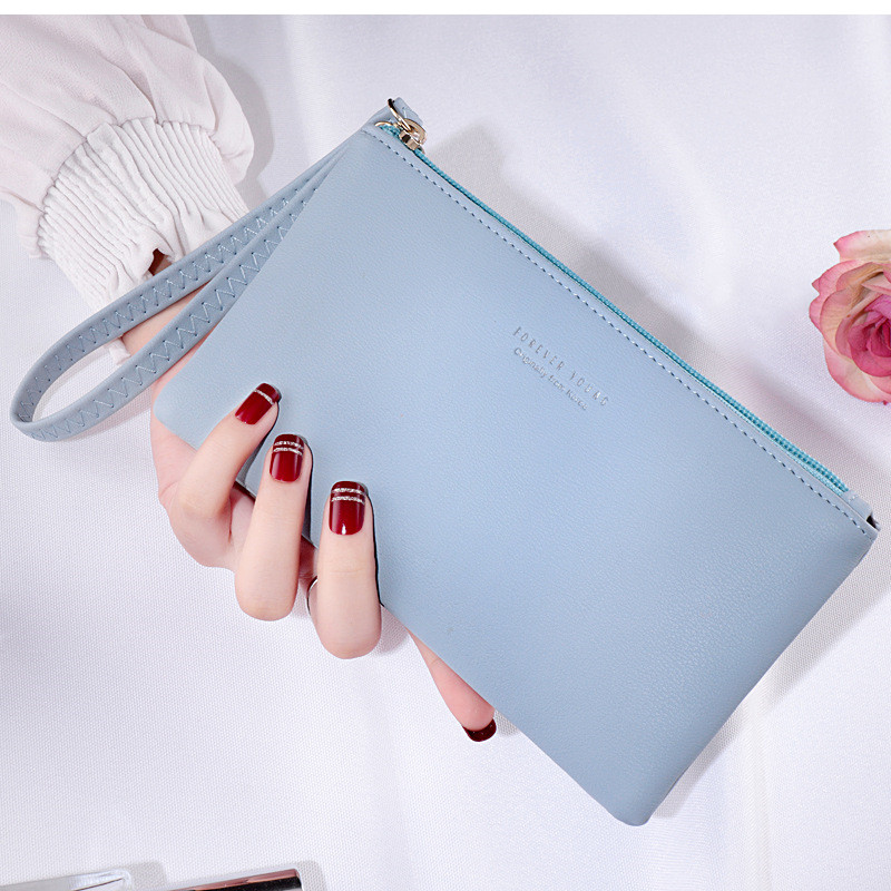 Women Wallet Long Fashion Zipper Clutch Hand Bag