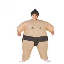 Crianças Inflável Sumo Traje Festa de Halloween do Vestido Extravagante  Gordura Homem Maratona de Sumô Japonês Cosplay Trajes de. 74f5c7c6293