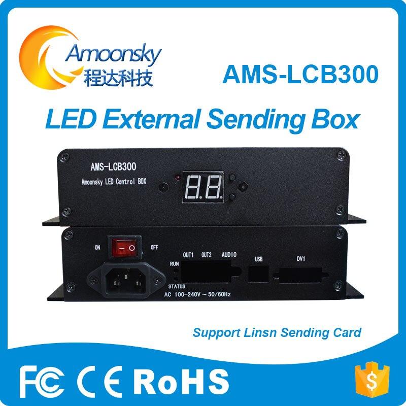 D'origine led envoi carte au partage de led signe extérieur envoi box pour linsn led envoi carte ts802 ts802d ts901 ts901d