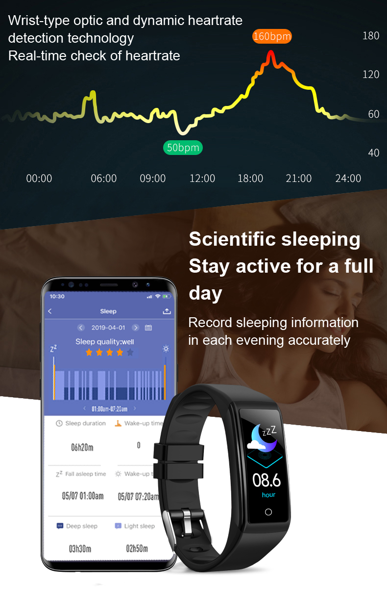 à prova d' água Homens Relógio para IOS Android