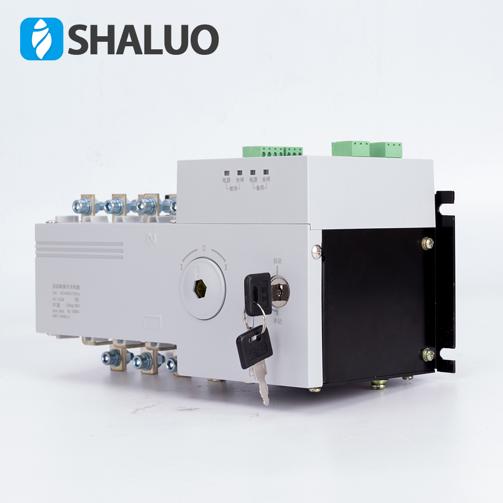 4P 100A 400V Dual Power Automatic Transfer Switch Universal switch ...