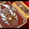 Аниме 56 Шт. Cardcaptor Sakura Карты Набор С Золотой Clow Книги Новые в Коробке
