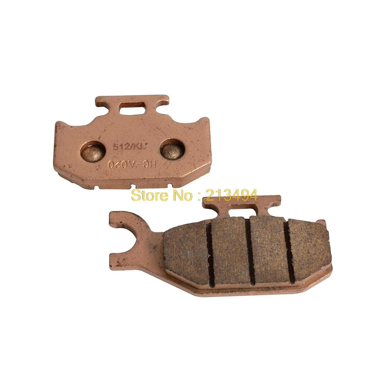 Motorcycle Rear Brake Pads For <font><b>UTV</b></font> all <font><b>Hisun</b></font> 400 <font><b>500</b></font> 550 700 800 NEW image