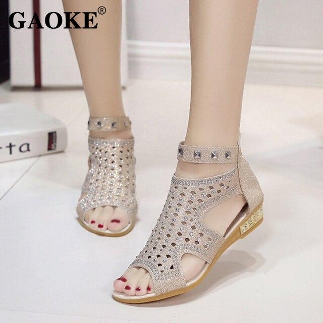 317085e05c982 2018 Mujer Sandalias verano Mujer plataforma zapatos cuñas de tacón bajo  Mujer Partido Zapatos Sandalias de. Sitúa el cursor encima para ...