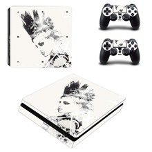 PS4 Slim Skin Sticker Kit for Playstation 4 S Console and Controller – Punk Rock Vinyl Decal