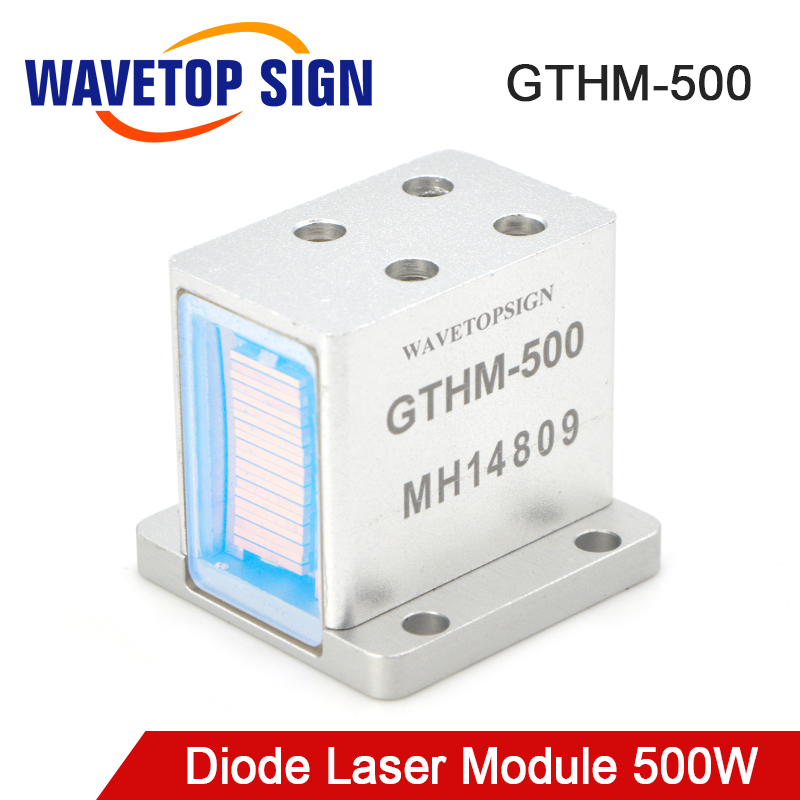 WaveTopSign Diode Laser Modules for Hair Removal GTHM 500 500W Side Back Bottom Water Out