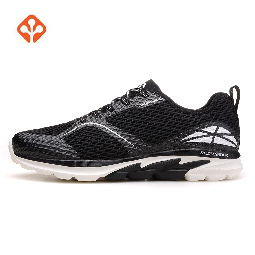 2018 SALAMANDER Mens Mesh Outdoor Trail Running Shoes Sneakers For Men Sport Trail Running Jogging Sneaker Man Male adidas outdoor kanadia 7 trail gtx trail running shoe men s
