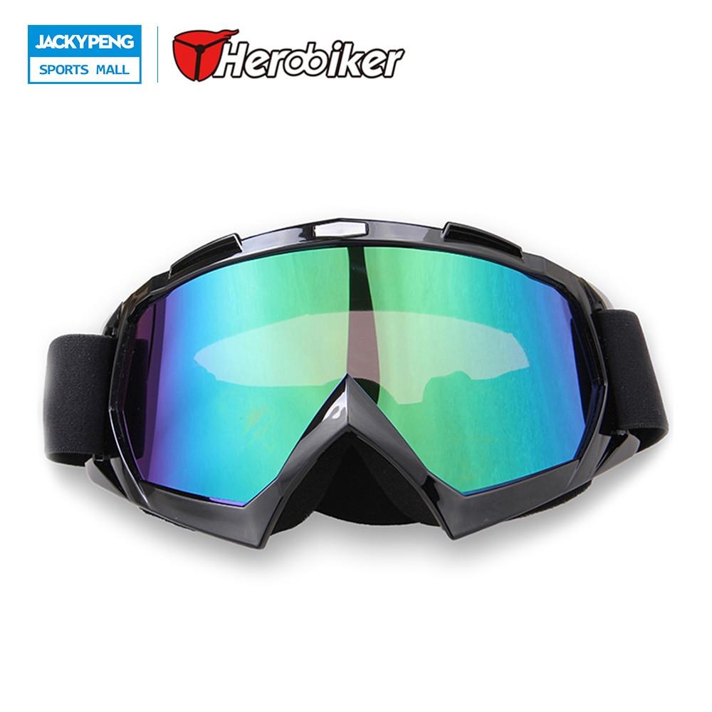 HEROBIKER Airsoft Paintball Goggles Motocicleta Off-Road Ski Snowboard Snowmobil